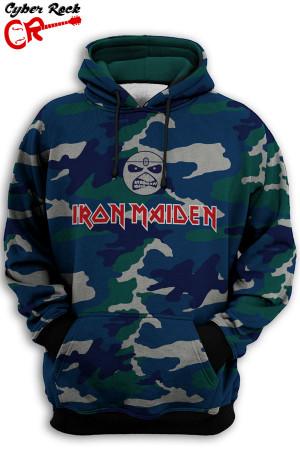 Blusa Iron Maiden camo