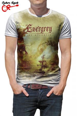 Camiseta Evergrey The Atlantic branca