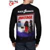 Camiseta Raglan Black Sabbath Sabotage Manga Longa