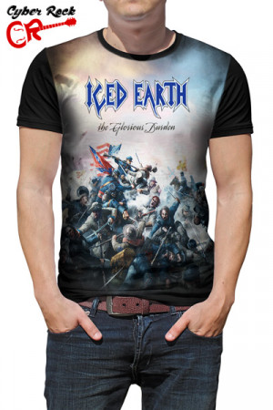 Camiseta Iced Earth the Glorious Burden