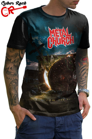 camiseta Metal Church From the Vault