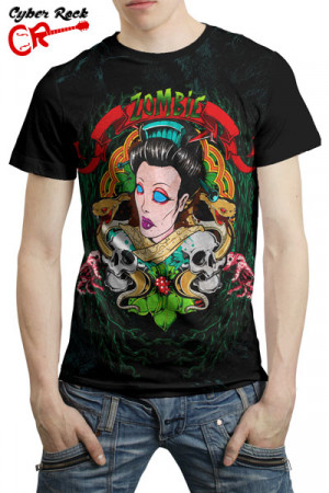 Camiseta Tatoo Zombie