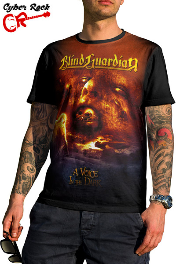 Camiseta Blind Guardian a Voice in the Dark