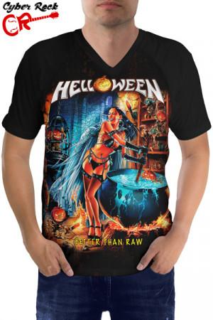 Raglan manga curta Helloween Better than Raw