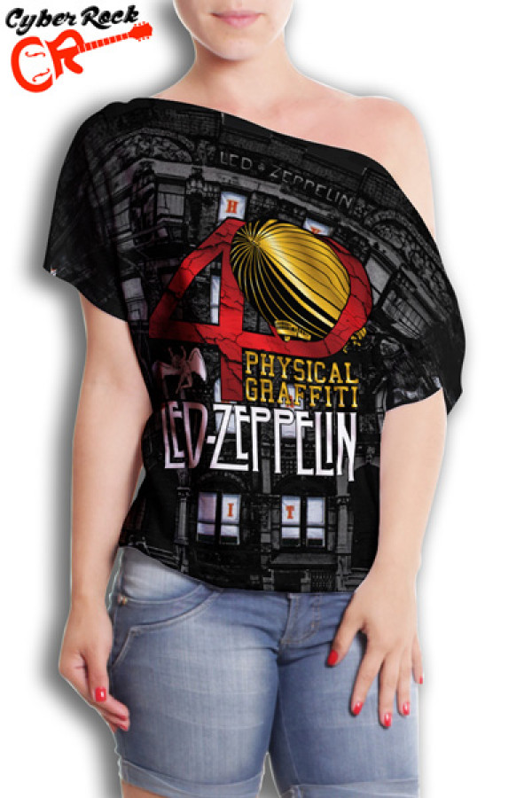 Blusinha Led Zeppelin Physica