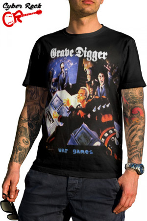 Camiseta Grave Digger War Games