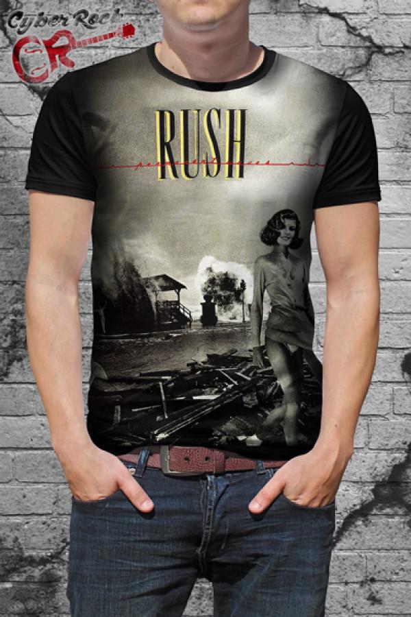 Camiseta Rush Permanent Waves