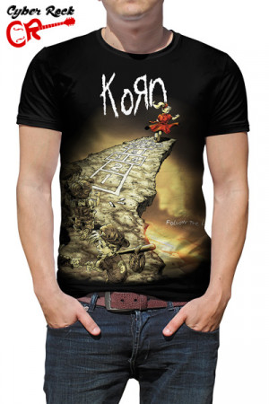 Camiseta Korn - Follow the Leader