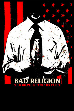 Camiseta Bad Religion The Empire Strikes First
