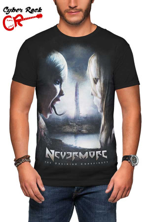 Camiseta Nevermore the Obsidian Conspiracy