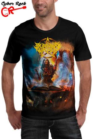 Camiseta Burning Witches