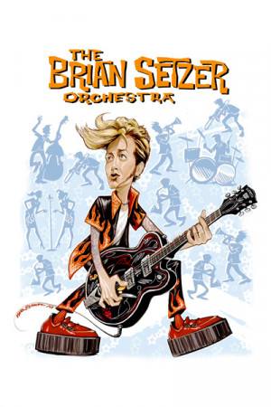Camiseta The Brian Setzer Orchestra