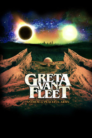 Camiseta Greta Van Fleet Anthem of the Peaceful Army