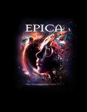 Camiseta Epica The Holographic Principle
