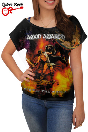 Blusinha Amon Amarth Versus the World