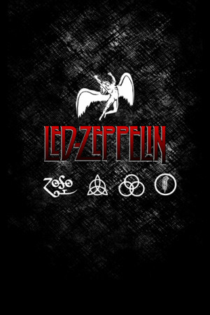 Camiseta Led Zeppelin Logo