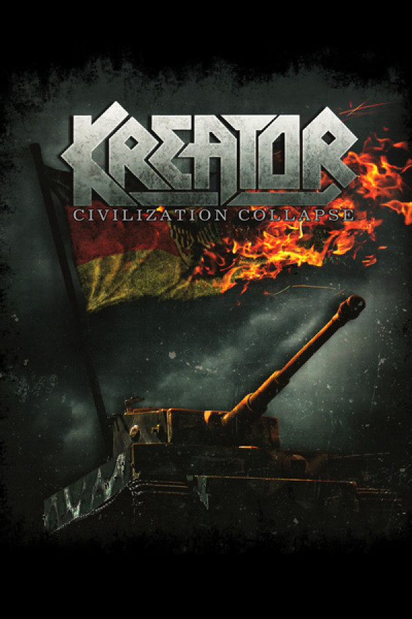 Blusinha Kreator Civilization Collapse