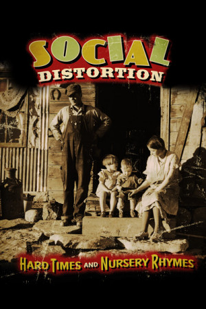 Camiseta Social Distortion Hard Times And Nursery Rhymes