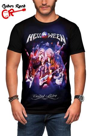 Camiseta Helloween - United Alive