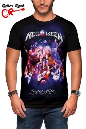 Camiseta Helloween - United Alive