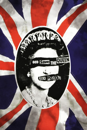 Camiseta Sex Pistols God Save The Queen