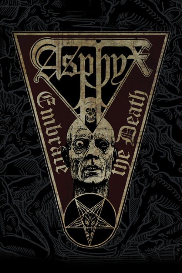 Camiseta Asphyx Embrace The Death