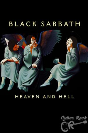 Almofada Black Sabbath Heaven and Hell