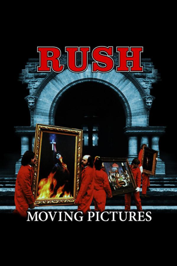 Camiseta Rush - Moving Pictures