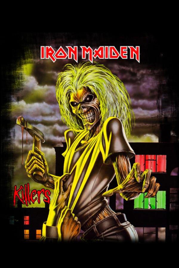 Camiseta Iron Maiden Killers