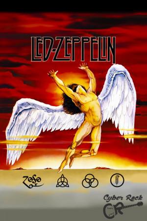 Almofada Banda Led Zeppelin