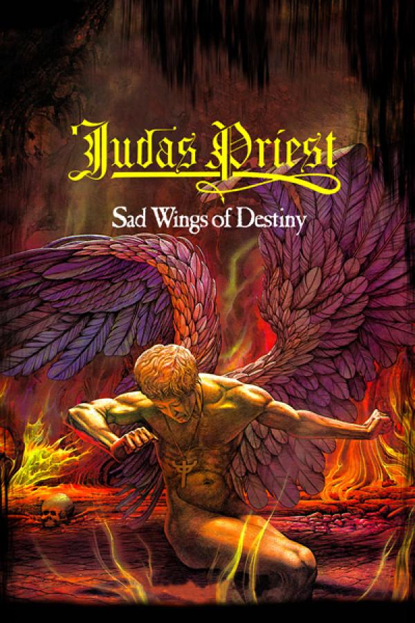 Camiseta Judas Priest Sad Wings