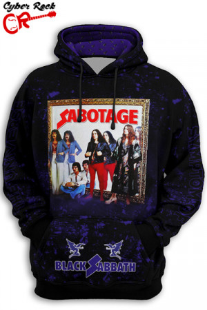 Blusa Moletom Black Sabbath Sabotage