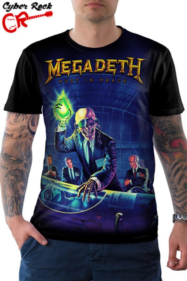 Camiseta Megadeth Rust in Peace