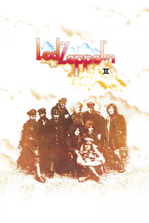 Camiseta Led Zeppelin II branca