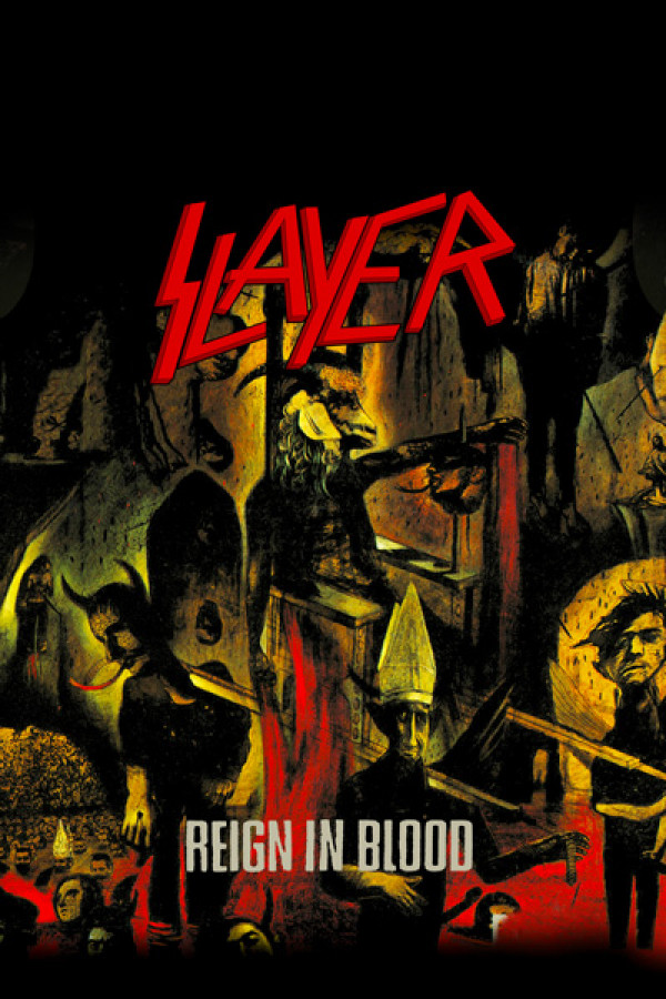 Blusinha Slayer Reign in Blood