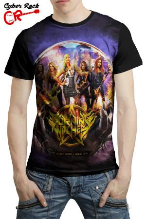 Camiseta Burning Witches Burning Alive
