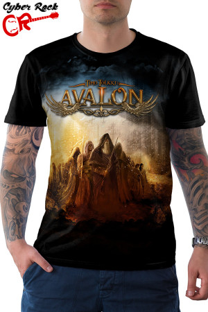 Camiseta Timo Tolkki Avalon The Land os New Hope