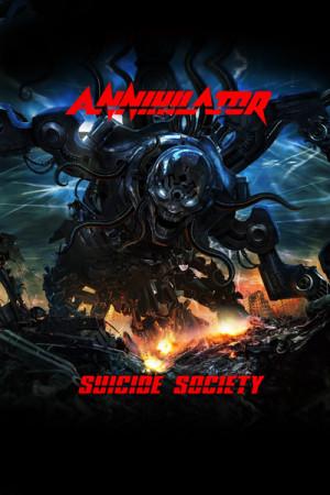 Camiseta Annihilator Suicide Society
