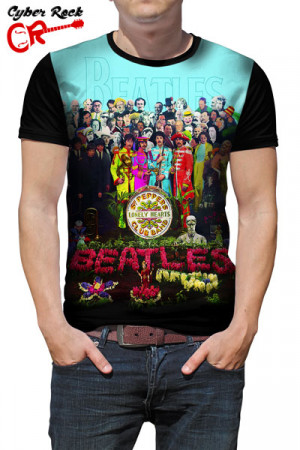 Camiseta The Beatles Lonely hearts