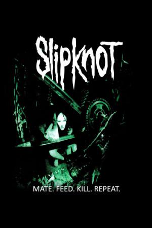 Camiseta Slipknot Mate. Feed. Kill. Repeat