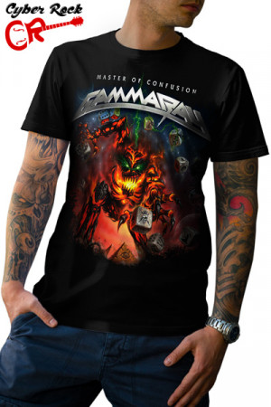 Camiseta Gamma Ray - Master Of Confusion