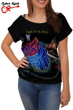 Blusinha Panic At the Disco Death of a Bachelor