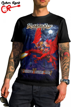 Camiseta Rhapsody of Fire Symphony of Enchanted Lands