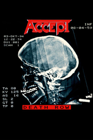 Camiseta Accept - Death Row