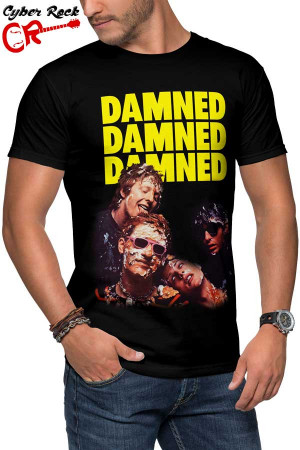 Camiseta The Damned-Phantasmagoria