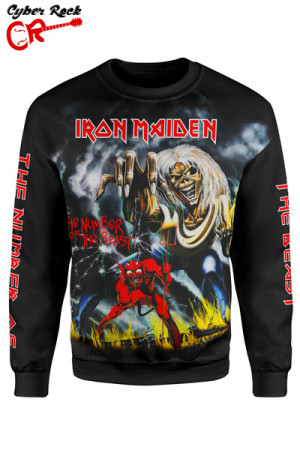 Blusa Moletom Iron Maiden The Number of The Beast