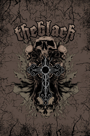 Camiseta Tatoo The black