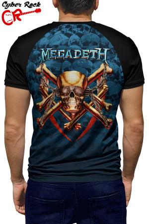 Raglan manga curta Megadeth
