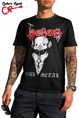 Camiseta Venom Black Metal