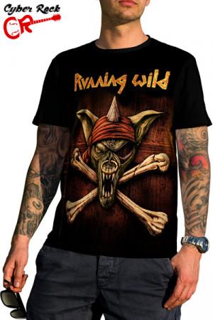 Camiseta Running Wild